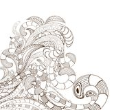 Doodle line art design Stock Photos