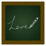 Doodle of a love heart design Stock Photos