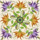 Doodle mandala Royalty Free Stock Images