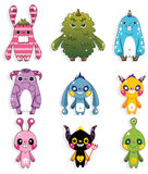 Doodle monster Royalty Free Stock Photos