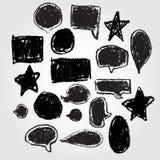 Doodle mowy bąbel Fotografia Royalty Free