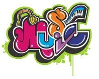Doodle musical Fotos de archivo libres de regalías