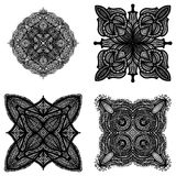 Doodle Ornaments Stock Image
