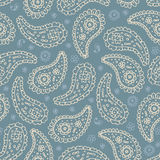 Doodle paisley seamless Royalty Free Stock Photos