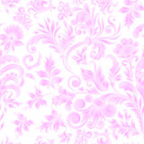Doodle paisley seamless pattern. Gradient floral elements on white background. Gzhel. Watercolor imitation. Two colors Stock Photography