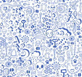 Doodle pattern Royalty Free Stock Images