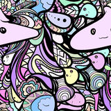 Doodle pattern Stock Photography
