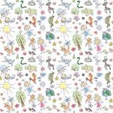 Doodle pattern Stock Photos