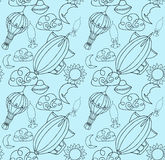 Doodle pattern Stock Photo