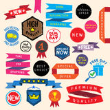 Doodle promo elements Royalty Free Stock Photo