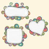 doodle rama ilustracji