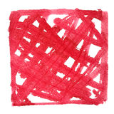 Doodle red frame Stock Photos