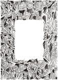 doodle rysująca ramowa ręka Obraz Stock