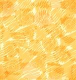 Doodle s абстрактной сияющей предпосылки вектора схематичный Стоковые Изображения