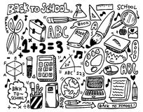 Doodle school Royalty Free Stock Photography