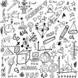 Doodle Science Stock Photography
