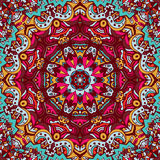 Doodle seamless mandala pattern background. Abstract Tribal vintage ethnic seamless pattern ornamental Stock Photo