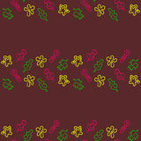 Doodle seamless pattern Back to school Royalty Free Stock Photography