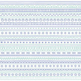 Doodle seamless pattern. Boho style Royalty Free Stock Photo