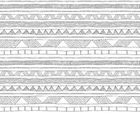 Doodle seamless pattern Royalty Free Stock Images