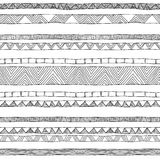 Doodle seamless pattern Stock Photos