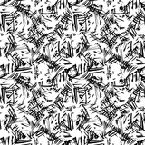 Doodle seamless pencil scribble pattern-model for design of gif Stock Photography