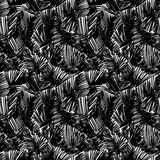 Doodle seamless pencil scribble pattern-model for design of gif Royalty Free Stock Photos
