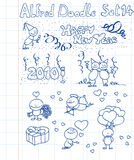 Doodle set 14 Stock Photography