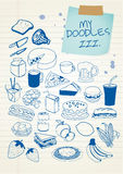 Doodle Set 3 Royalty Free Stock Photos