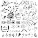 Doodle set Stock Images