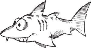 Doodle Shark Vector Stock Photos