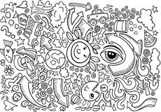 Doodle Sketch Drawing Vector Stock Images