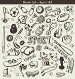 Doodle sports Royalty Free Stock Photo