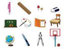 Doodle stationery Stock Photo