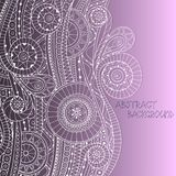 Doodle style background pattern in vector. Royalty Free Stock Photography
