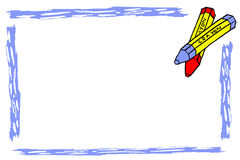Doodle style, Crayon and Streak Royalty Free Stock Photography