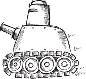 Doodle Tank Vector Stock Photos