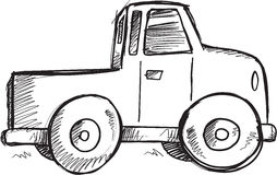 Doodle Truck Vector Stock Image