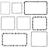 Doodle vector frames Royalty Free Stock Photo