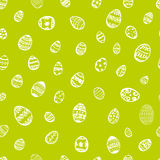 Doodle vector seamless pattern Easter Egg. Stock Photos