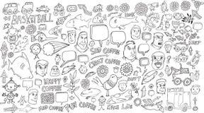 Doodle Vector Set Stock Photos