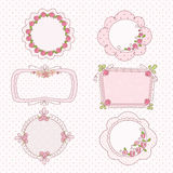 Doodle vintage frames Royalty Free Stock Photography