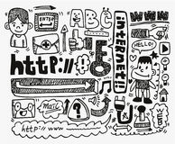 Free Doodle Web Element Icon Set Stock Photography - 20038772