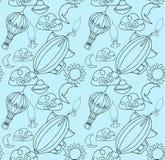 Doodle wzór Zdjęcie Stock