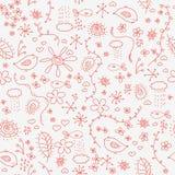 doodles άνευ ραφής Στοκ Εικόνα