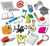 doodles σχολείο διανυσματική απεικόνιση