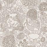 doodles σύρετε το χέρι Στοκ Φωτογραφίες