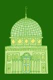 Doodles των μουσουλμανικών τεμενών Στοκ εικόνες με δικαίωμα ελεύθερης χρήσης