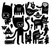 doodles смешное Стоковые Изображения