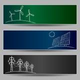 Doodles энергии электростанции Стоковое Фото